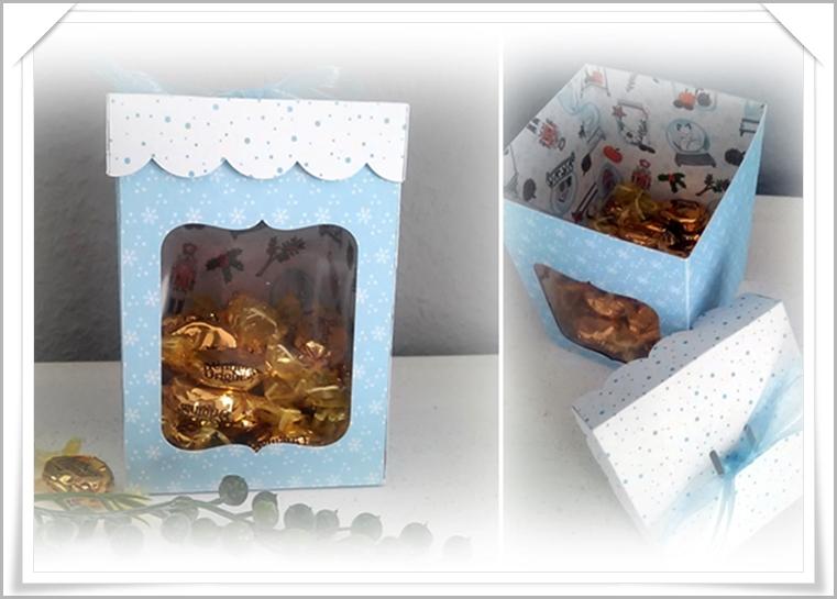 Box für Süßigkeiten