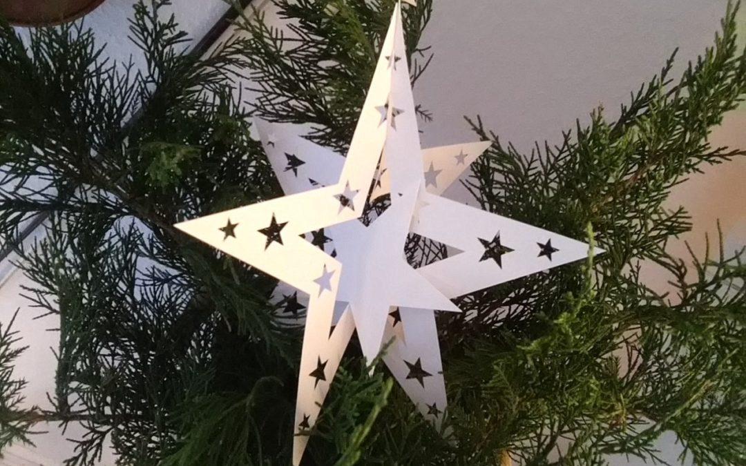Dreidimensionaler Stern