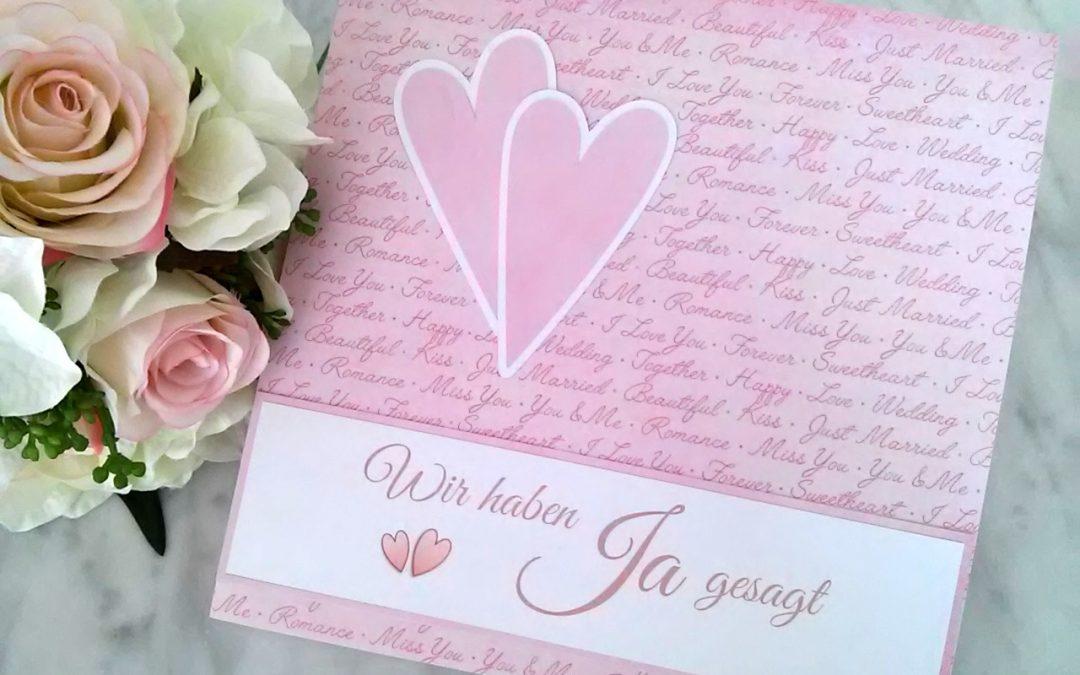 Gästebuch Hochzeit — Wir haben Ja gesagt