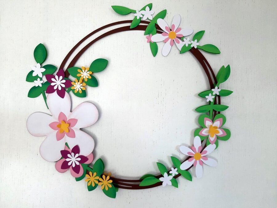 Sommerlicher Blütenkranz