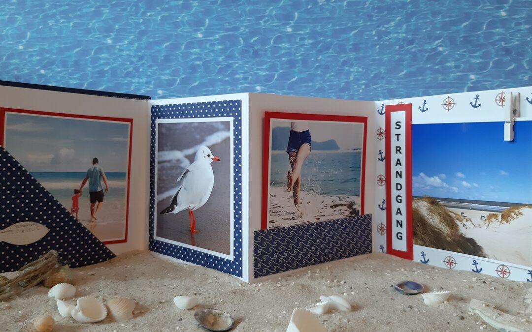 Strand-Feeling! Basteln im Urlaub