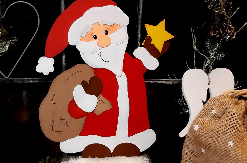 Bescherung vom Weihnachtsmann