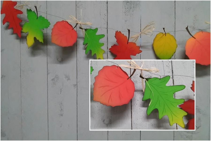 Dekorative Herbst-Girlande