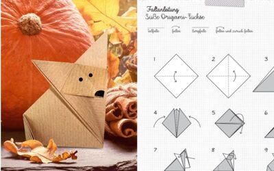 Origami Füchse
