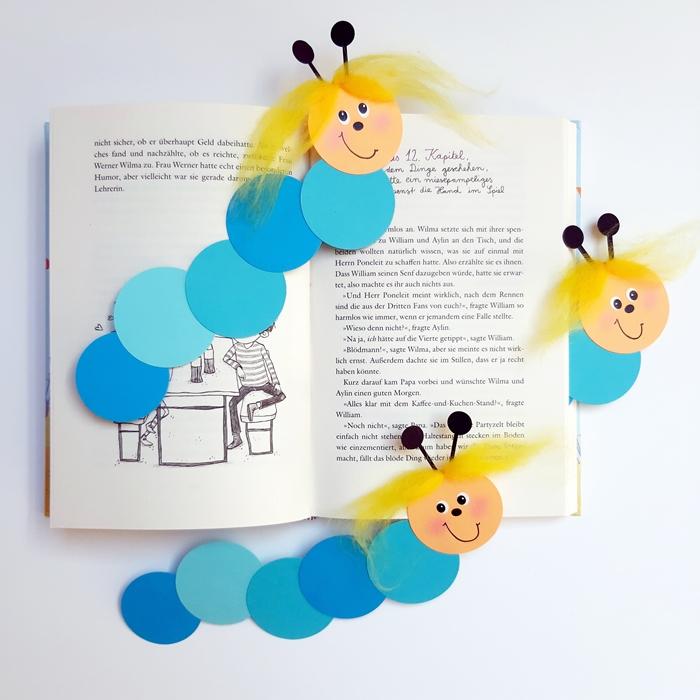Lesezeichen Bücherwurm