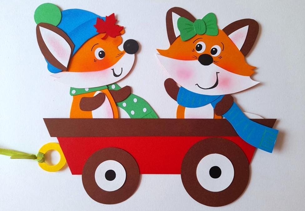 Bastelpackung Familie Fuchs
