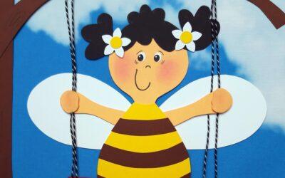 Schaukel für fleißige Bienen