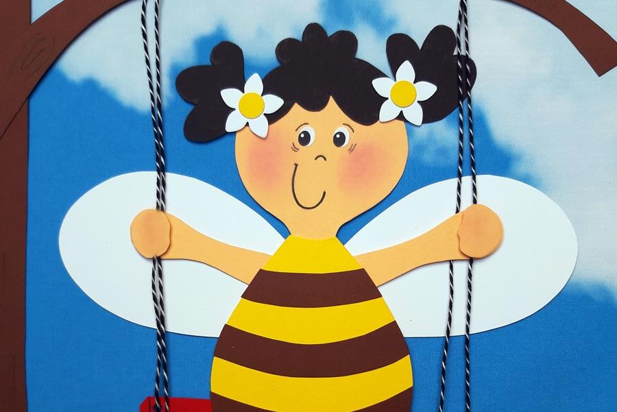 Schaukel für Bienen
