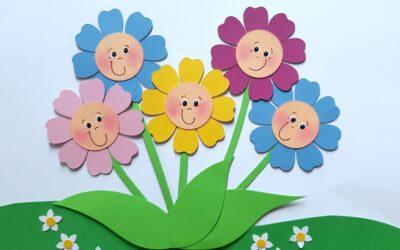 Blumenwiesen in bunten Farben