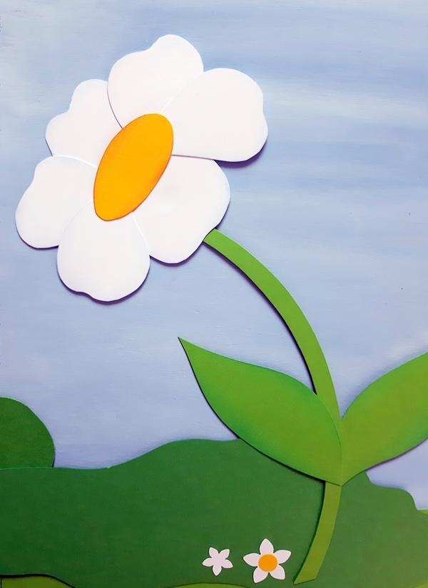 Blume aus Papier