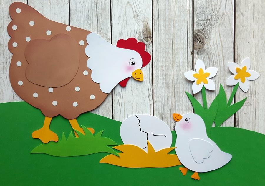 Nachwuchs im Hühnerstall