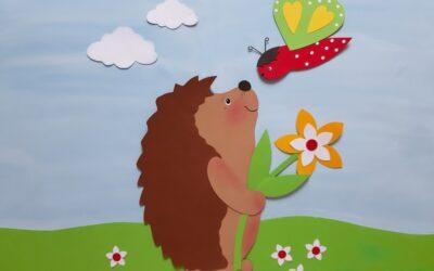 Frühling auf der  Blumenwiese