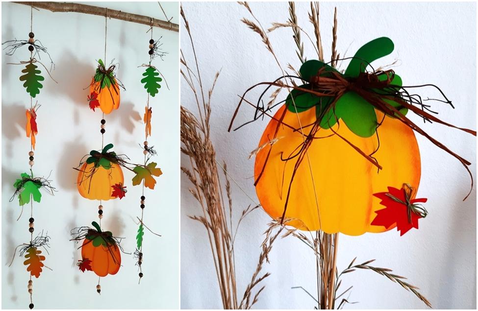 Kürbisse zur Herbstzeit
