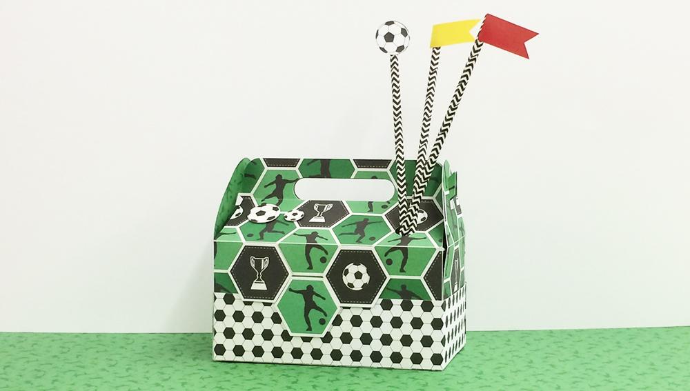 Lunchbox Fußball Halbzeit