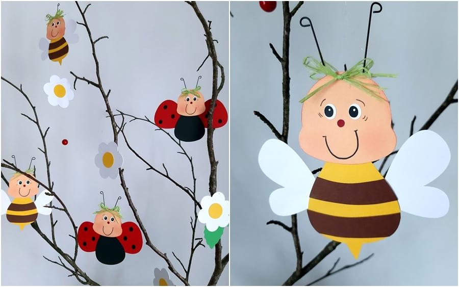 Bienen und Marienkäfer