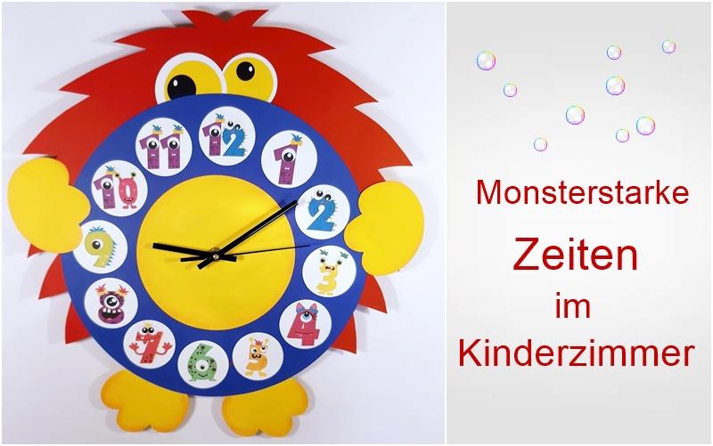 Monster Uhr
