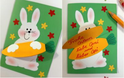 Grußkarte zum Osterfest