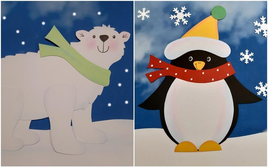Pinguin & Eisbär am Südpol