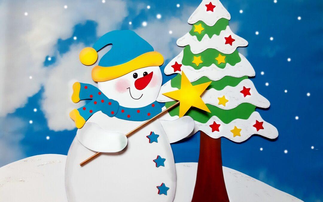Schnee zur Weihnachtszeit