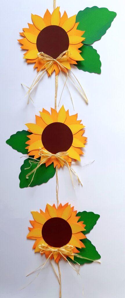 Dekokette aus Sonnenblumen