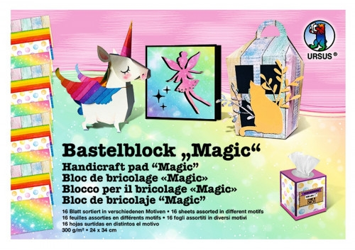 "Bastelblock ""Magic!"