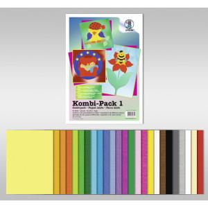 Kombi-Pack 1 aus Tonpapier und Fotokarton