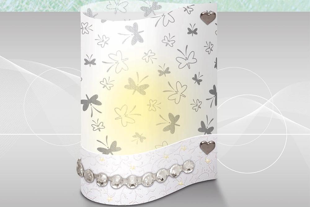 Windlicht Silver Style