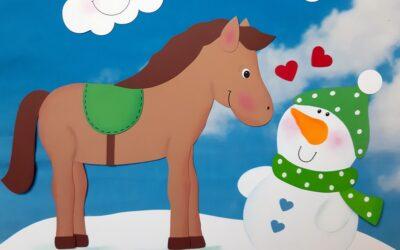 Pferdeliebe im Schnee