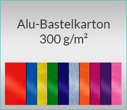 Alu-Bastelkarton