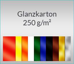 Glanzkarton