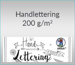 Handlettering Papiere