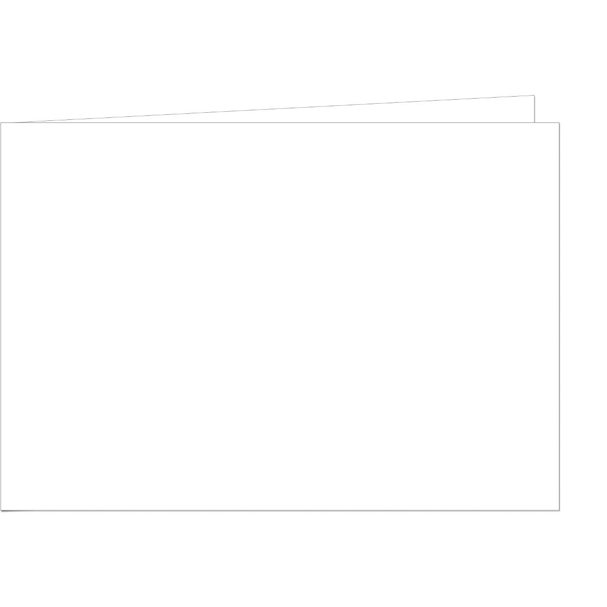 und Bastelkarten weiß DIN A6 Brief