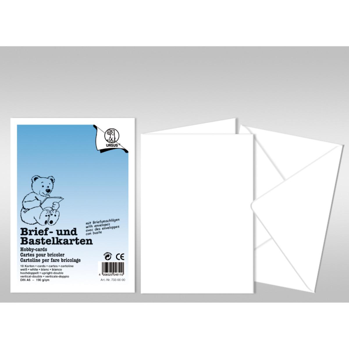 """Briefumschlag """"Dreams of paper"""" quadratissch - 50 Stück"""