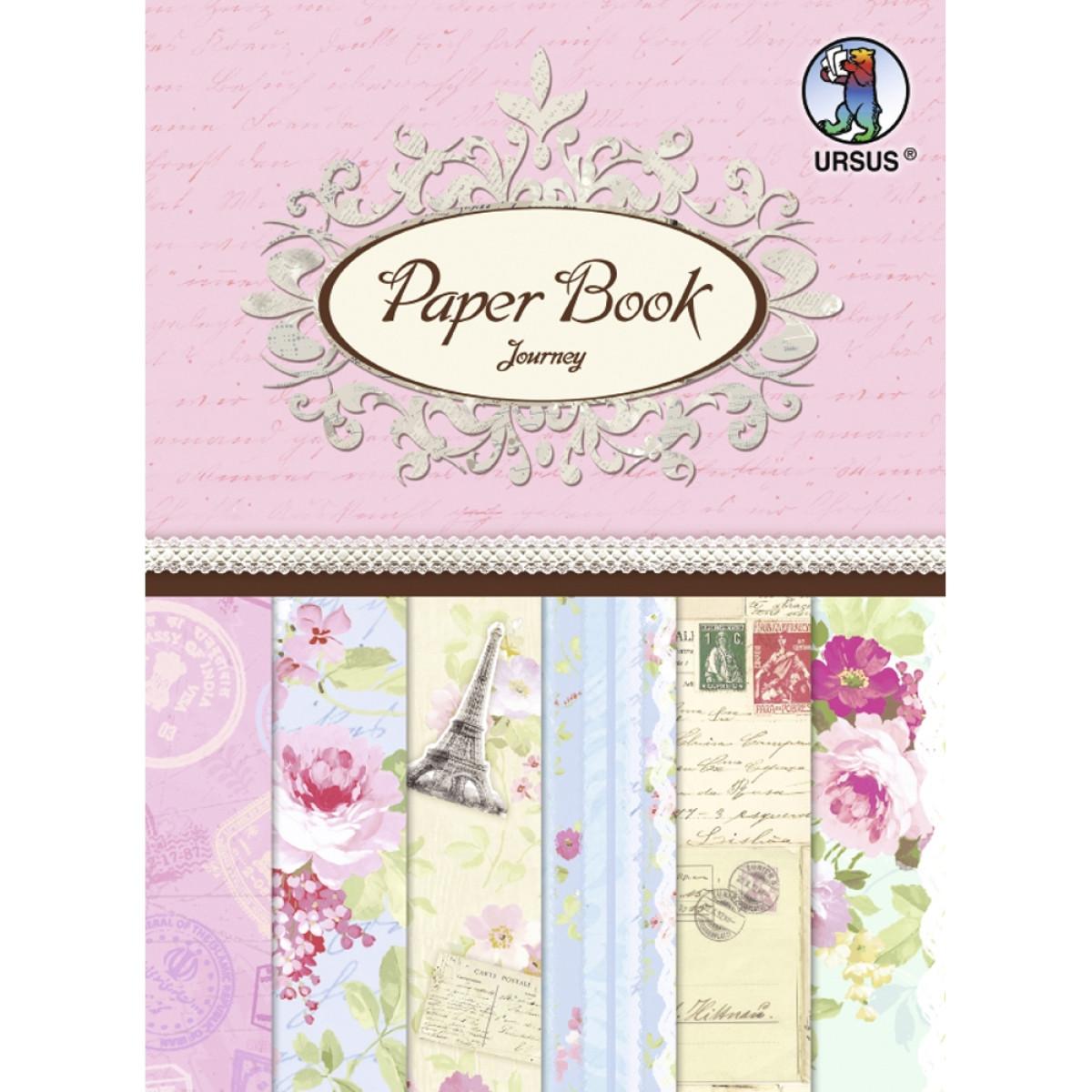 """Designpapier Paper Book """"Journey"""""""