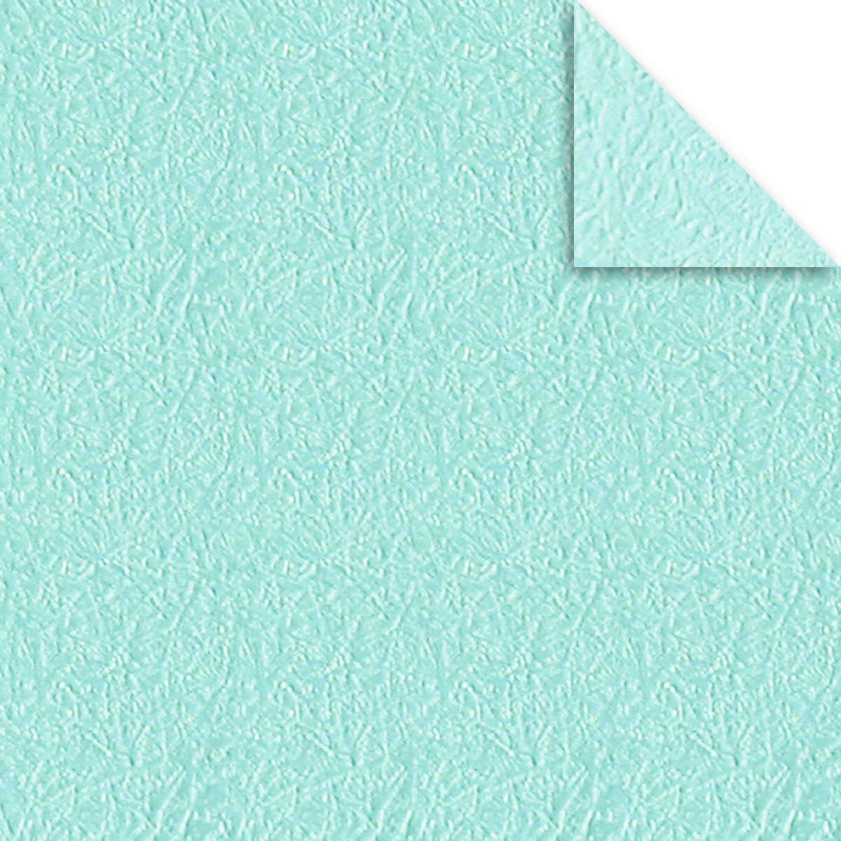 faltbl tter aurelio stern crush paper mint 15 x 15 cm buntpapierwelt. Black Bedroom Furniture Sets. Home Design Ideas