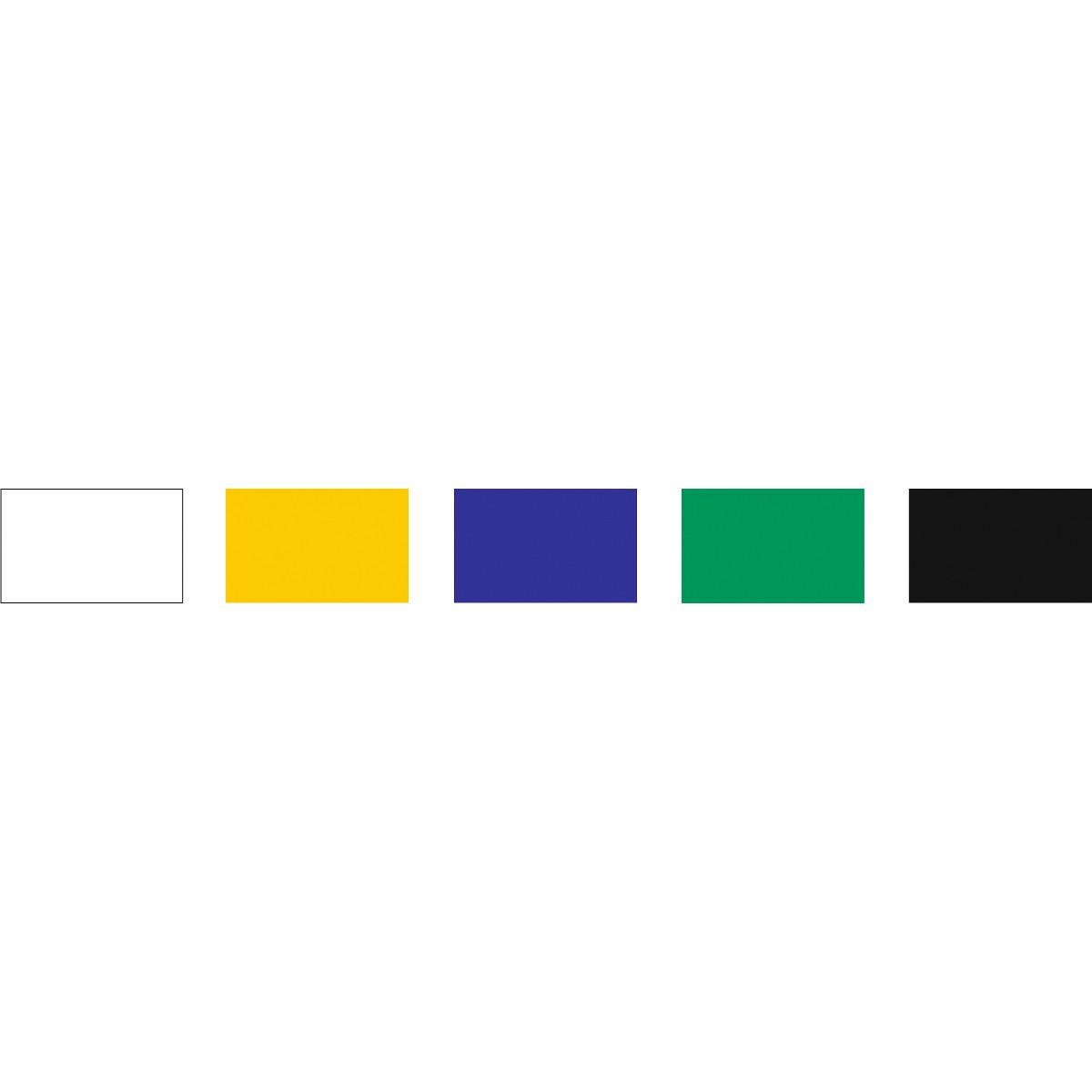 Farbige Fensterfolie 23 x 33 cm - 14 Blatt sortiert