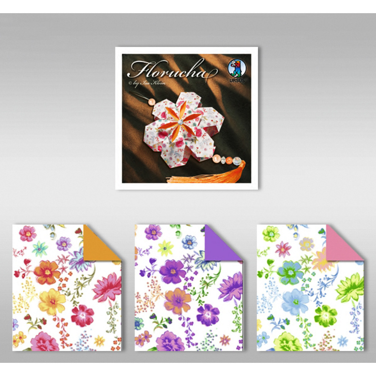 "Florucha ""Romance"" 80 g/qm 3 Designs"