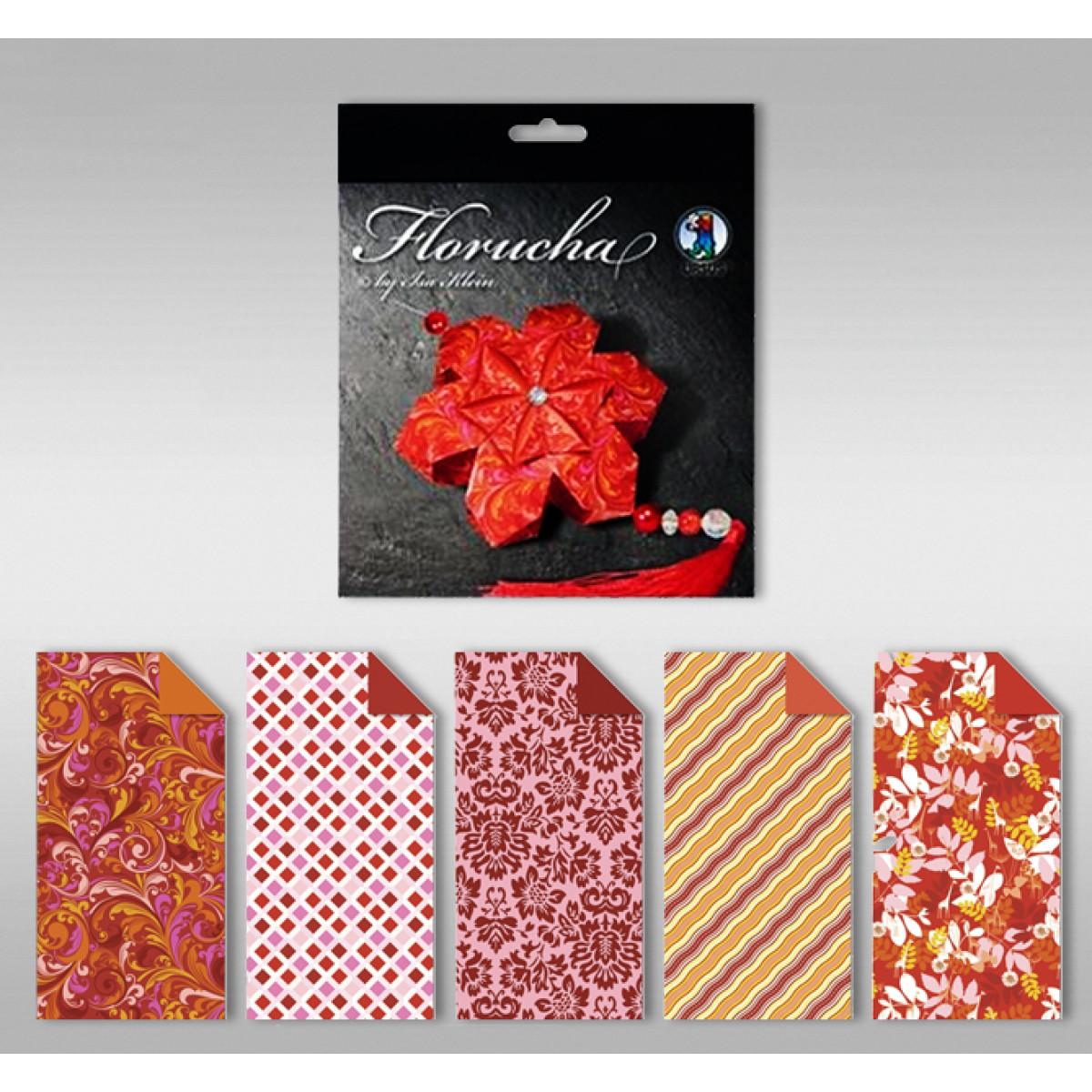 """Florucha """"Ruby"""" 80 g/qm 5 Designs"""