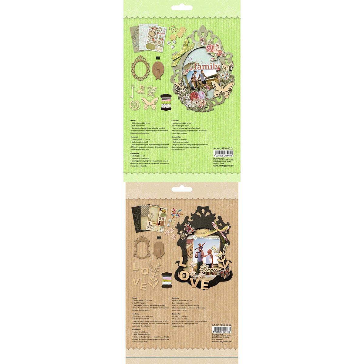 Frame Kit / Bilderrahmen-Set small