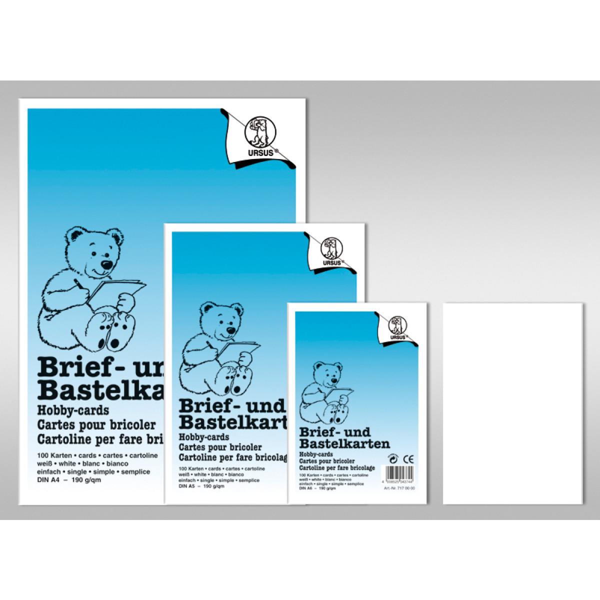 "Karte ""Dreams of paper"" DIN A6 - 50 Stück"