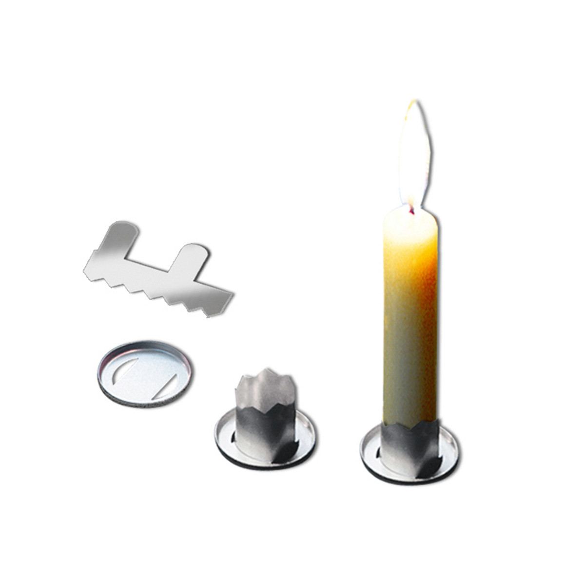 Kerzenhalter, ø 4 cm, 1 Stück