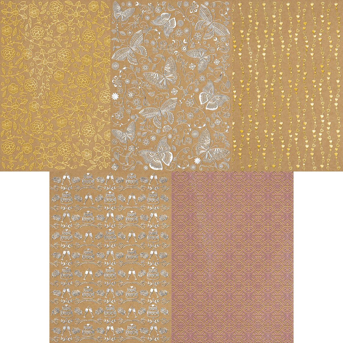 Kraftkarton Selection DIN 4 - 5 Blatt