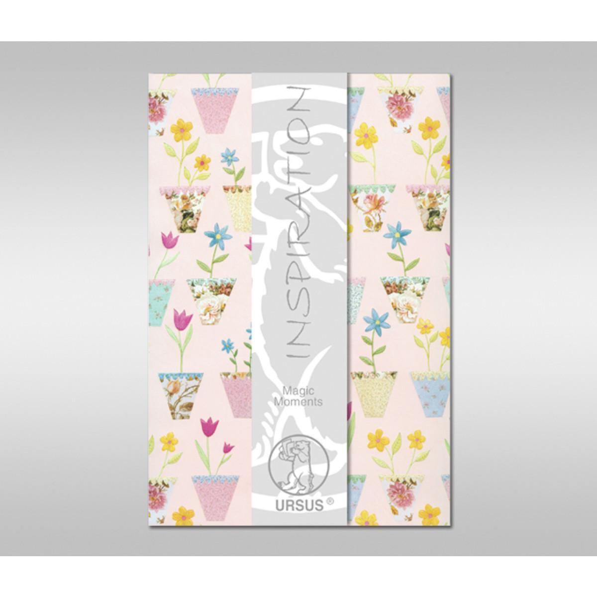 "Magic Moments ""Summertime"" 120 g/qm 45 x 69 cm - 1 Bogen"