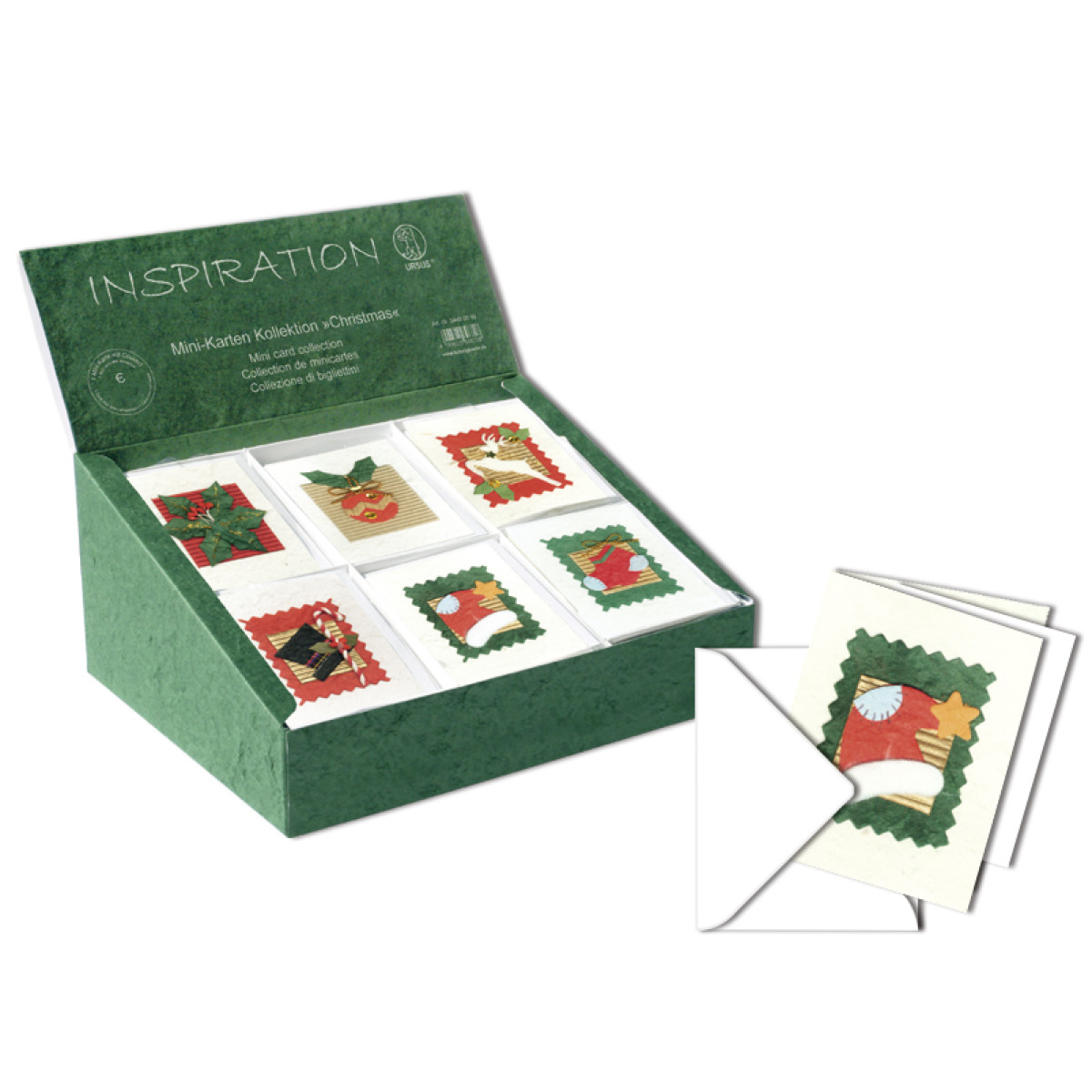 "Mini-Karten Kollektion ""Christmas"""