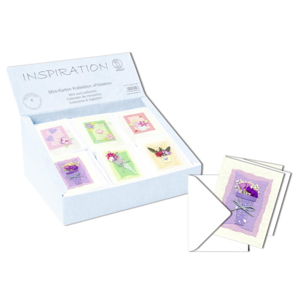 """Mini-Karten Kollektion """"Flowers"""""""