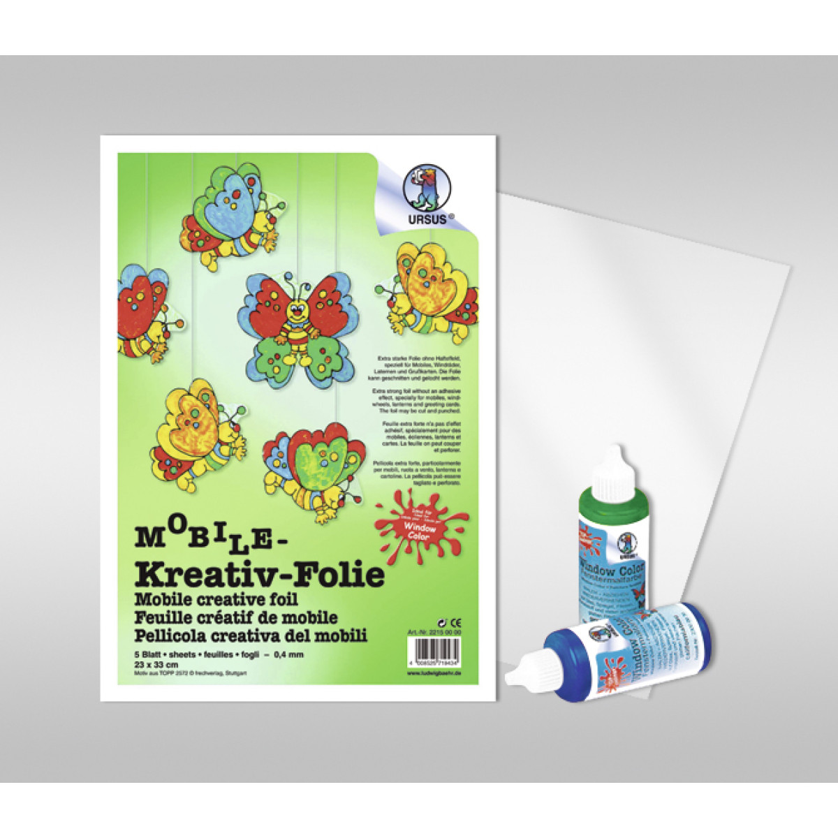 Mobile-Kreativ-Folie 50 x 70 cm - 5 Bogen