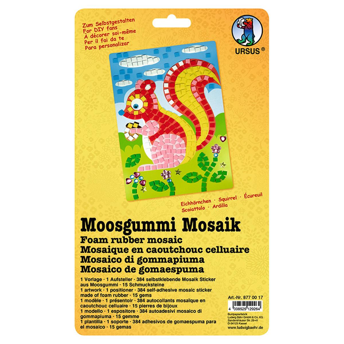 Moosgummi Mosaik \