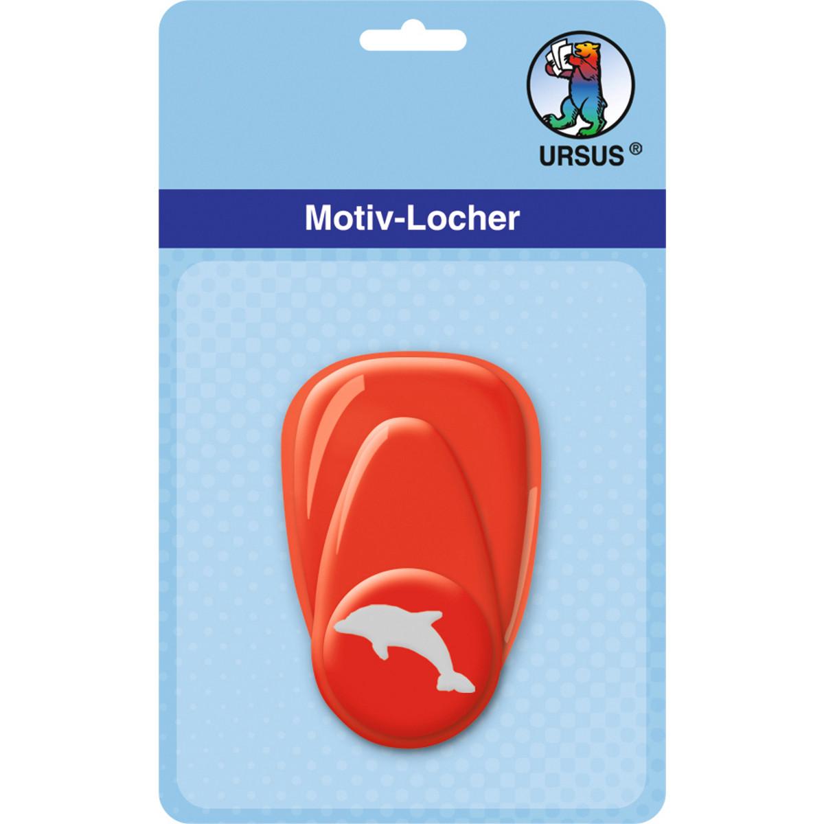 """Motiv-Locher """"klein"""" Delphin"""
