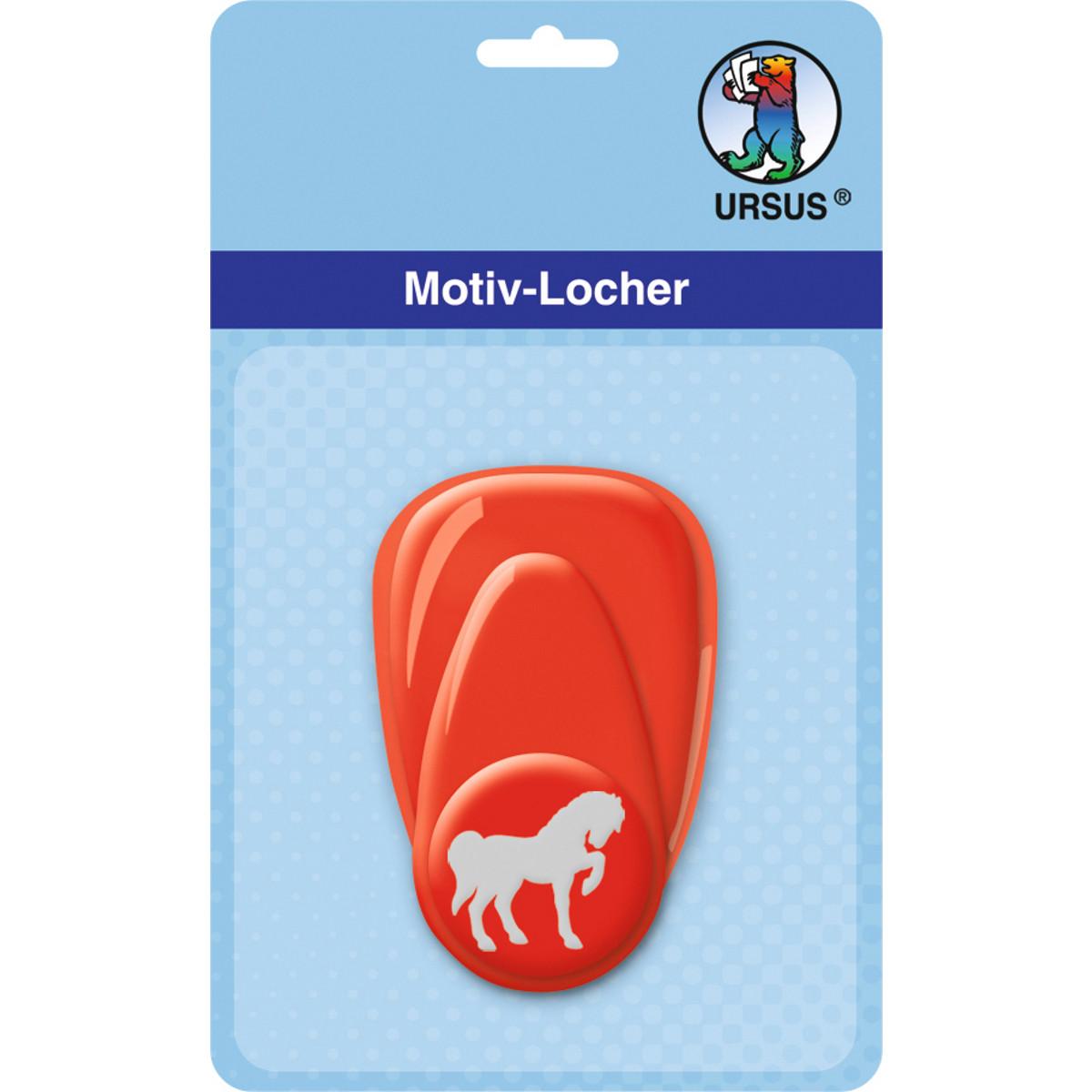 """Motiv-Locher """"klein"""" Pferd"""