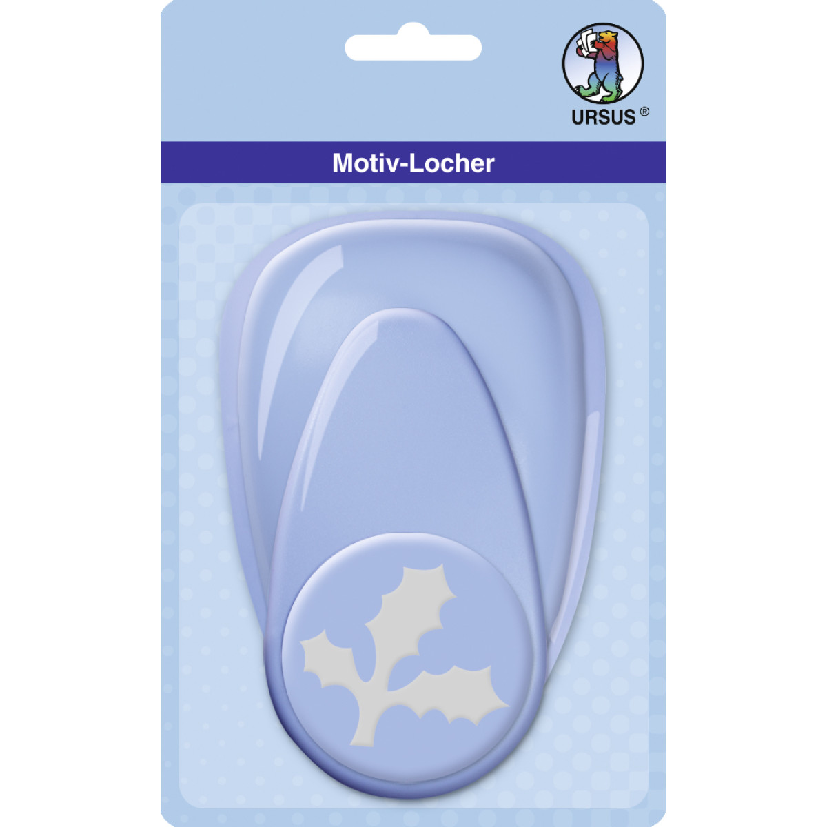 "Motiv-Locher ""maxi"" Ilex Blatt"